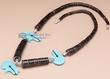 "Native American Jewelry Necklace 20"" -Tigua (j155)"