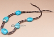 """Native American Jewelry Necklace 22"""" (j146)"""
