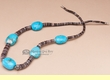"Native American Jewelry Necklace 22"" (j146)"