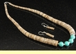 "Native American Jewelry -Necklace & Earring Set 21""  (141)"