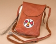 "Beaded Indian Buffalo Medicine Bag 6"" -Sioux  (313)"