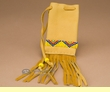 "Old Style Native American Medicine Pouch 4"" -Sioux  (311)"