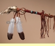 "Native American Medicine Spirit Stick 25"" -Tigua  (S10)"