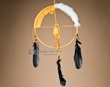 "Native American Medicine Wheel 12"" -Gold  (12-9)"