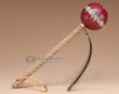 "Native American Navajo Ball Rattle 6"" -Red  (173)"