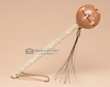 "Native American Navajo Ball Rattle 6"" - Tan (172)"