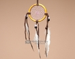 "Native American Navajo Bone Dream Catcher 2.5""  (dc25-2)"