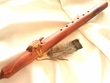 "Native American Navajo Cedar Flute 20"" -Turtle Gm"