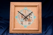 Native American Navajo Clock -Sand Painting 11x11 (6)
