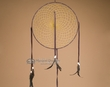 "Native American Navajo Dream Catcher 12"" -brown"