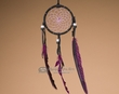 "Native American Navajo Dream Catcher 3"" -Purple  (dc3-3)"