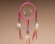 "Native American Navajo Dreamcatcher 4"" -Pink  (4-7)"