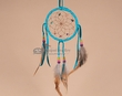 "Native American Navajo Dreamcatcher 4"" -Turquoise  (4-8)"