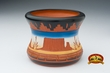 "Native American Navajo Etched Vase 3.5"" -Monument (m1)"