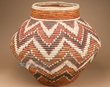 "Handcrafted Navajo Style Cobra Basket 22"" (mp2)"