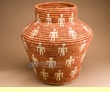 "Handcrafted Navajo Style Cobra Basket 21"" (mp2)"