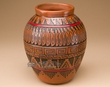 "Native American Navajo Indian Pottery Vase 6.25""  (p290)"