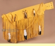 "Native American Navajo Indian Rifle Case 42"" -Buckskin  (rc4)"
