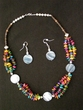 "Native American Navajo Jewelry -Necklace & Earring Set 20"" (176)"