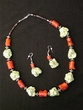 """Native American Navajo Jewelry -Necklace & Earring Set 22"""" (173)"""
