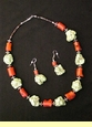 "Native American Navajo Jewelry -Necklace & Earring Set 22"" (173)"