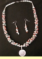 "Native American Navajo Jewelry -Necklace & Earring Set 23"" (174)"