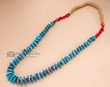 "Native American Navajo Jewelry -Turquoise Necklace 29""  (n150)"
