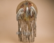 "Native American Navajo Mandella Shield 14"" -Pheasant  (s5)"