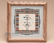 "Native American Navajo Sand Painting 10""  (sp13)"