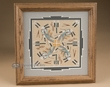 "Native American Navajo Sand Painting 10""  (sp16)"