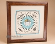 "Native American Navajo Sand Painting 14"" (sp18)"