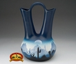 "Native American Navajo Wedding Vase 12"" -Desert  (v211)"