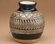 "Native American Navajo Vase 5.25"" -Etched  (ac)"