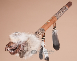 "Native American Peace Pipe For Sale 21.5"" -Eagle  (39)"