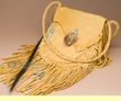 Native American Deer Skin Possible Bag  (b3151)