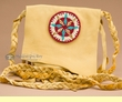 Native American Pueblo Medicine Bag -Star  (b40)
