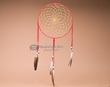 "Native American Shoshone Dreamcatcher 10"" -Red  (dc10-4)"