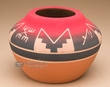 "Lakota Red Clay Medicine Bowl 6""x4"" -Sioux  (p608)"