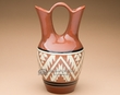 "Native American Wedding Vase 10"" -Lakota Earth Glazed (p638)"