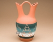 "Native American Pottery Wedding Vase 9.5"" -Sioux  (p620)"