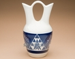 "Sioux Wedding Vase 10"" -Oglala Blue Glazed (p634)"