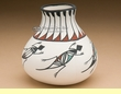 Native American Southwest Pottery Vase 4.5""