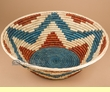 "Native American Style Basket 15.5""x5.5""  (6)"