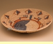"Native American Style Basket 15.5""x3""  (6)"