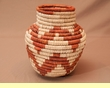 "Native American Style Olla Basket 6"" (a36)"