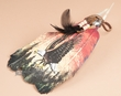 Native American Style Painted Feathers - Flying Eagle
