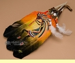 Native American Style Painted Feathers -Kokopelli  (6)