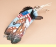 Native American Style Painted Feathers - (PF27)