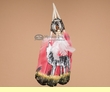 Native American Style Painted Feathers -Wolf  (pf4)