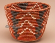 "Native American Style Planter Basket 11.5"" (a42)"